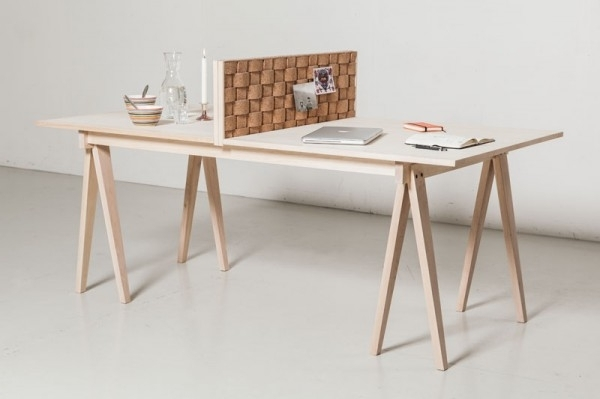 Deco Welcomes Cork Back From The 70's Throughout Recent Cork Dining Tables (View 4 of 20)