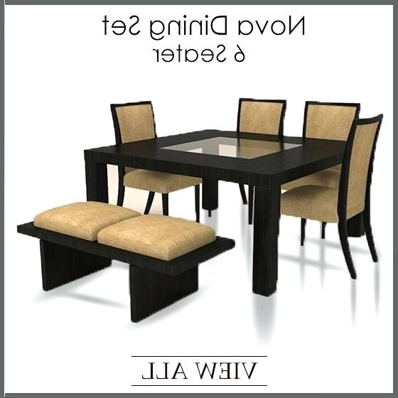 Decoration: 2 Options From 6 Seater Dining Table And Chairs Uk In Latest 6 Seat Dining Table Sets (View 10 of 20)