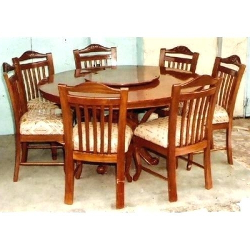Decoration: 6 Seater Round Dining Table Pertaining To Favorite 6 Seat Round Dining Tables (View 11 of 20)