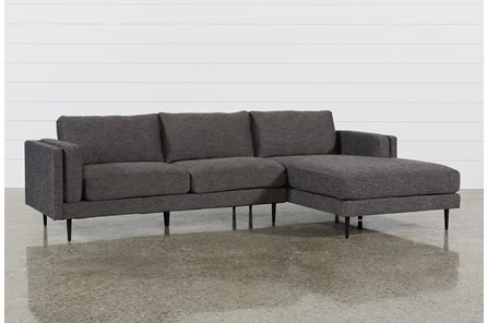 Delano 2 Piece Sectionals With Laf Oversized Chaise Within Most Up To Date Living Spaces Sectional Couches Delano 2 Piece W Laf Oversized (View 9 of 15)
