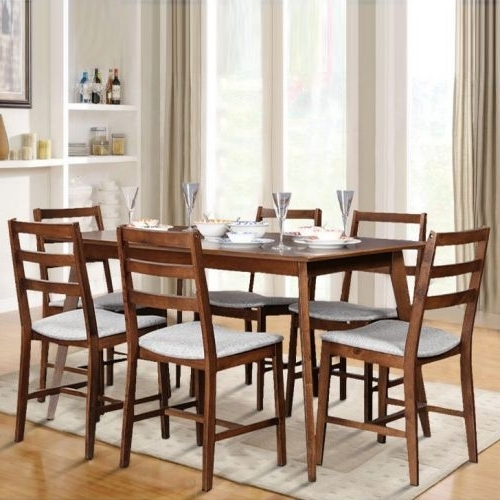 Delfina 7 Piece Dining Sets With Regard To Popular Dining Sets – Buy Dining Room Sets Online India – Hometown (View 6 of 20)
