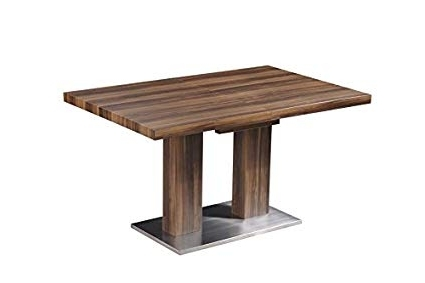 Delfina Dining Tables With Regard To Newest Amazon – At Home Usa Delfina Wood Dining Table – Kitchen (View 6 of 20)