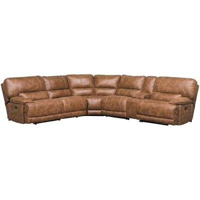 Denali Light Grey 6 Piece Reclining Sectionals With 2 Power Headrests Pertaining To Popular Sectionals (View 9 of 15)