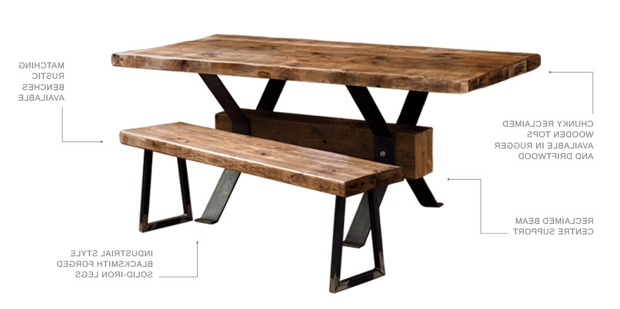 Design Shack Bespoke Inside Most Popular Artisanal Dining Tables (View 11 of 20)
