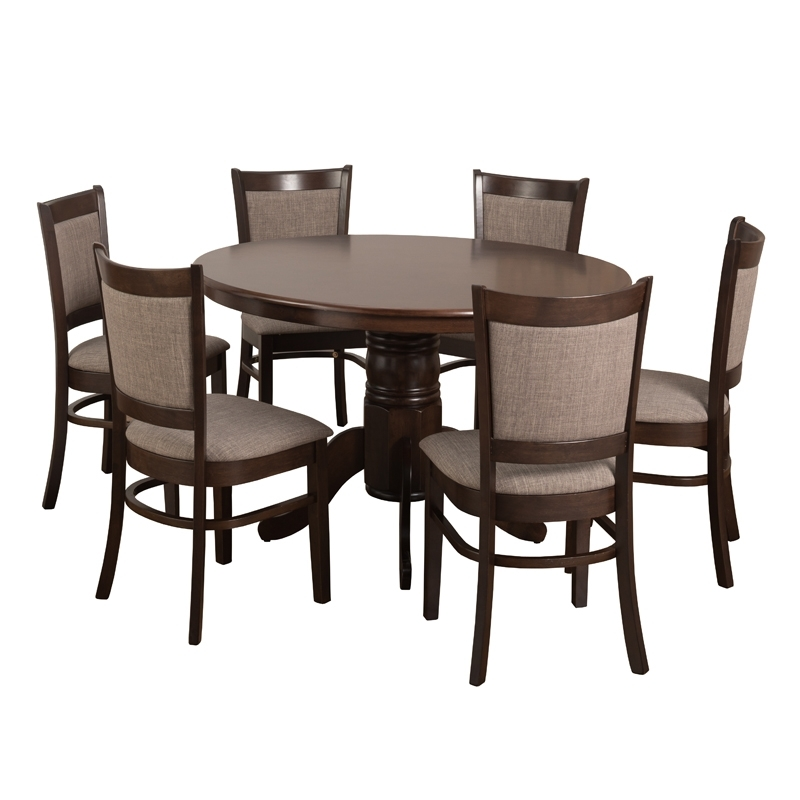 Dining Chairs Pertaining To Latest Oliver 120Cm Dining Table & 6X Mandy Dining Chairs • Decofurn (View 6 of 20)