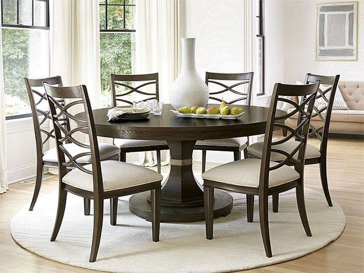 Dining For Norwood 7 Piece Rectangular Extension Dining Sets With Bench & Uph Side Chairs (View 3 of 20)