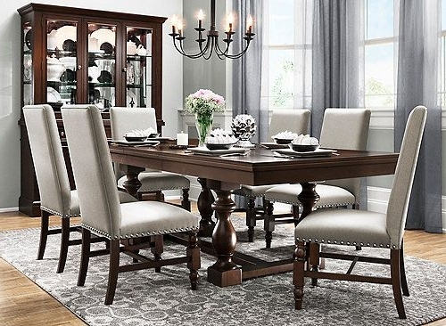 Dining In Candice Ii 7 Piece Extension Rectangle Dining Sets (Gallery 16 of 20)