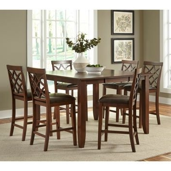 Dining Pertaining To Caden 7 Piece Dining Sets With Upholstered Side Chair (View 8 of 20)