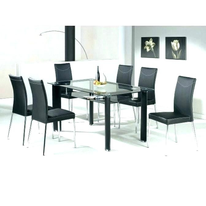 Dining Room 6 Chairs Dining Room Decor Ideas The Of A Dining Table For Current Glass Dining Tables With 6 Chairs (Gallery 9 of 20)