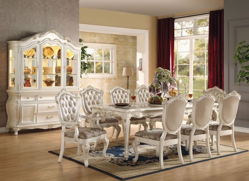 Dining Room And Kitchen With Regard To Trendy White Dining Tables Sets (Gallery 16 of 20)