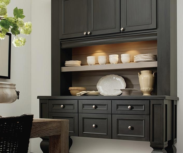 Dining Room Cabinets Intended For Newest Dining Room Storage Cabinet – Decora Cabinetry (Gallery 7 of 20)