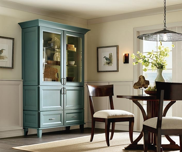 Dining Room Cabinets With Most Popular Dining Room Storage Cabinet – Diamond Cabinetry (View 6 of 20)
