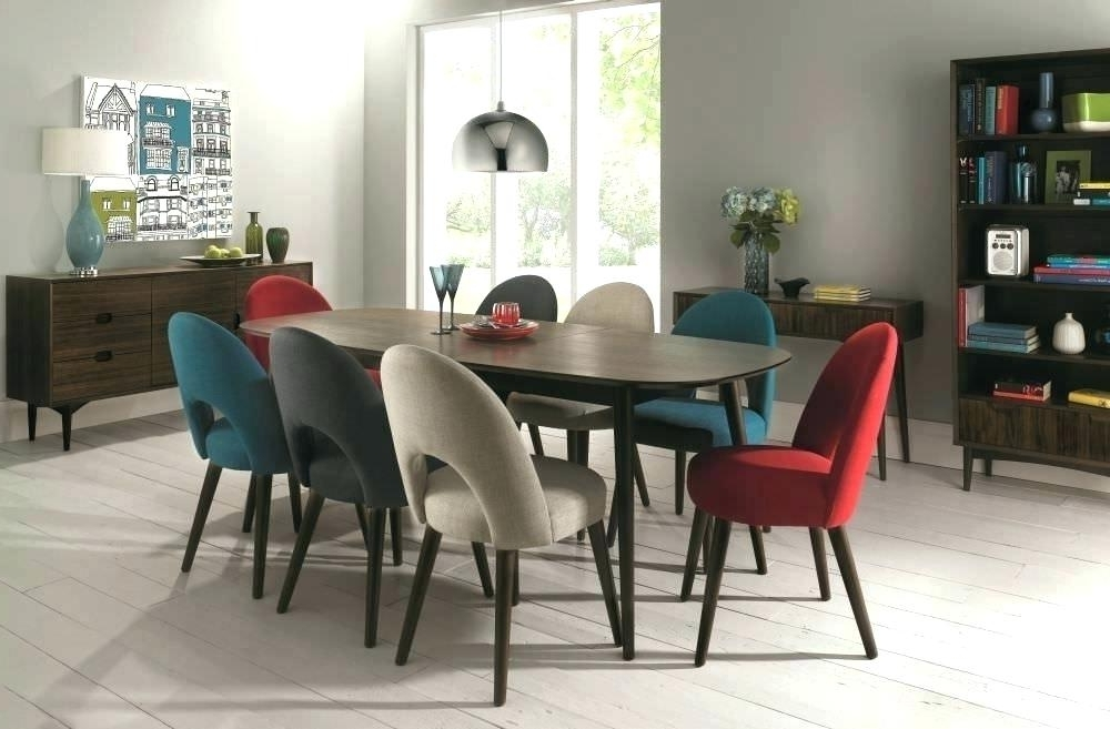 Dining Room Chair Set Of 6 – Modern Computer Desk Cosmeticdentist Inside Trendy Walnut Dining Tables And Chairs (View 4 of 20)
