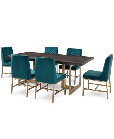 Dining Room Chairs Only With 2017 Cambridge Dining Furniture, 7 Pc (View 9 of 20)
