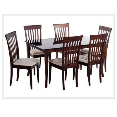 Dining Room Furniture – Wooden Dinning Set4 Chairmade Of Sisam Wood For Most Popular Wooden Glass Dining Tables (Gallery 1 of 20)