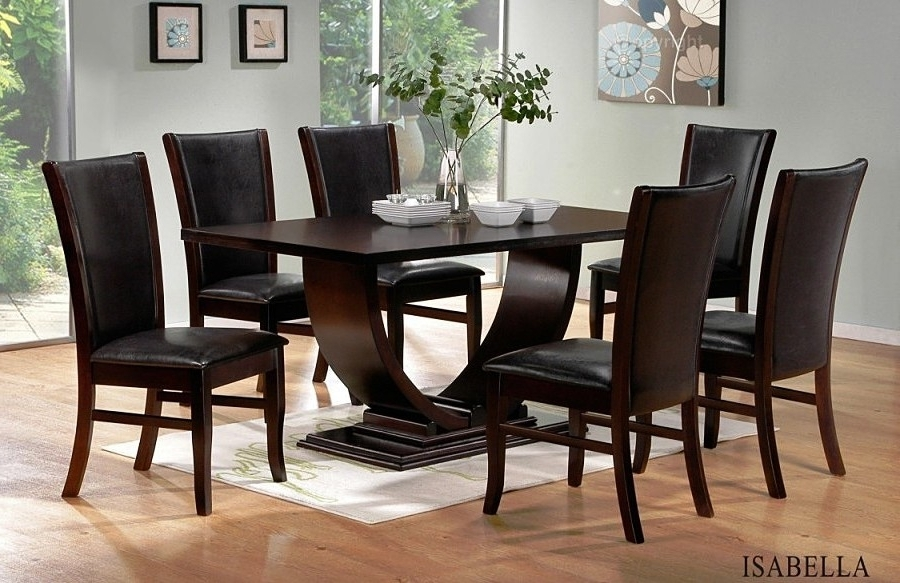 Dining Room : Interior Chic Contemporary Dining Set Modern Room Sets In 2017 Modern Dining Sets (View 5 of 20)
