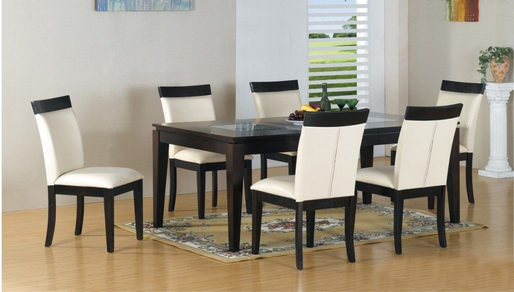 Dining Room Modern Kitchen Dinette Sets Modern Dining Room Table Intended For Most Current Contemporary Dining Tables Sets (View 7 of 20)
