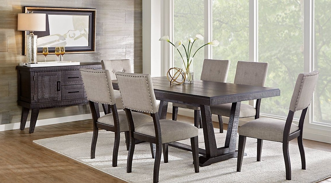 Dining Room Pertaining To Favorite Palazzo 7 Piece Rectangle Dining Sets With Joss Side Chairs (Gallery 3 of 20)