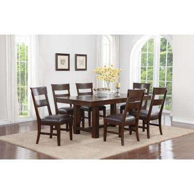 Dining Room Sets – Kitchen & Dining Room Furniture – The Home Depot Inside Most Current Walnut Dining Table Sets (Gallery 15 of 20)
