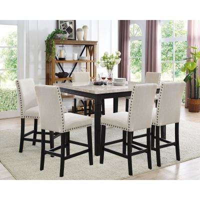 Dining Room Sets – Kitchen & Dining Room Furniture – The Home Depot Intended For Most Current Kitchen Dining Sets (View 9 of 20)