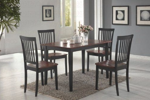 Dining Room Sets Within Widely Used Candice Ii 7 Piece Extension Rectangular Dining Sets With Slat Back Side Chairs (Gallery 10 of 20)