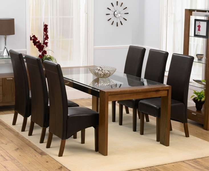 Dining Room Table With 6 Chairs – Dining Table Furniture Design Inside Most Current Glass Dining Tables With 6 Chairs (Gallery 2 of 20)