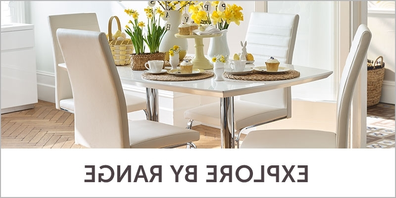 Dining Room Tables And Chairs In Most Up To Date Dining Room Furniture – Half Price Sale (Gallery 11 of 20)