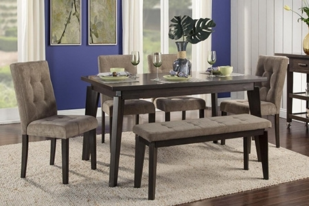Dining Room Tables Inside Famous Lassen 5 Piece Round Dining Sets (View 20 of 20)