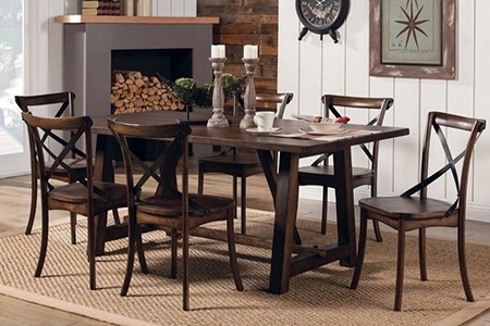 Dining Room Tables With Regard To Lassen 5 Piece Round Dining Sets (Gallery 8 of 20)