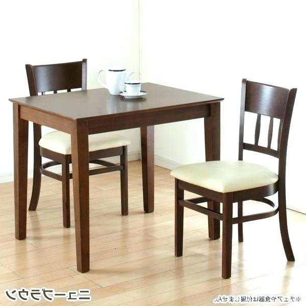 Dining Set For Two 2 People For Dining Room Sets Dining Table Sets With Regard To 2017 Two Person Dining Table Sets (Gallery 9 of 20)