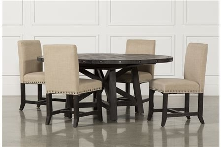 Dining Sets, Dining Room And With Regard To Candice Ii 5 Piece Round Dining Sets With Slat Back Side Chairs (View 14 of 20)