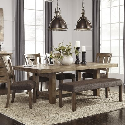 Dining Sets For Famous Loon Peak Etolin 6 Piece Extendable Dining Set (View 5 of 20)