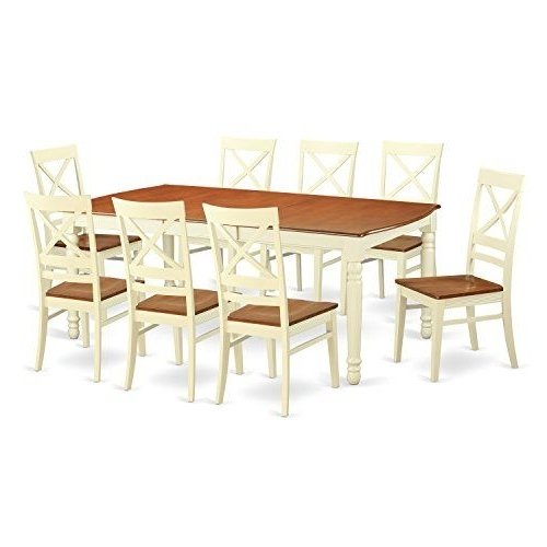 Dining Sets, Kitchen With Regard To Craftsman 9 Piece Extension Dining Sets With Uph Side Chairs (View 8 of 20)