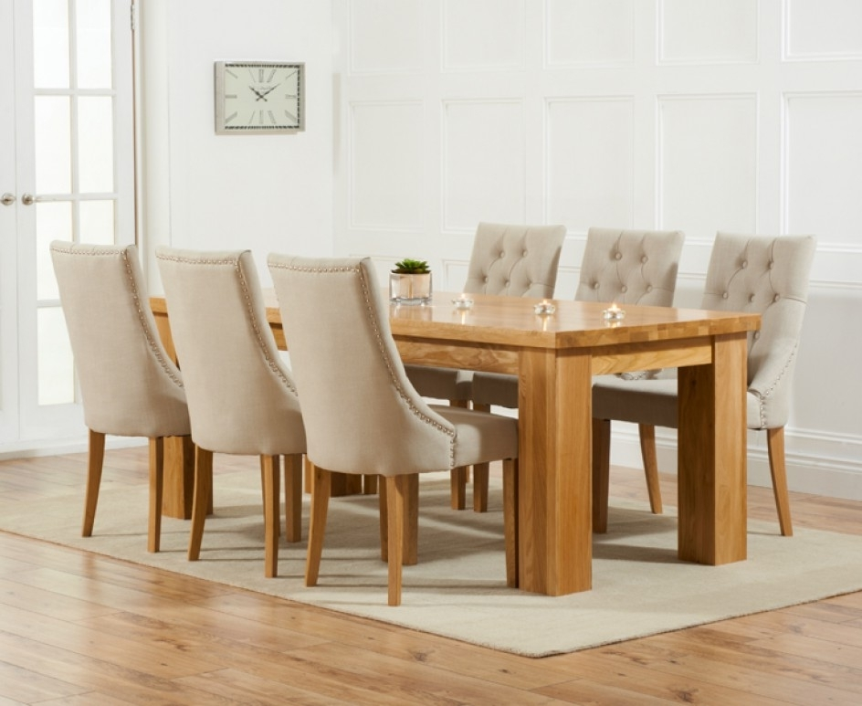 Dining Table And Fabric Chairs Sl Interior Design Ashley Furniture Pertaining To Current Dining Tables And Fabric Chairs (View 6 of 20)