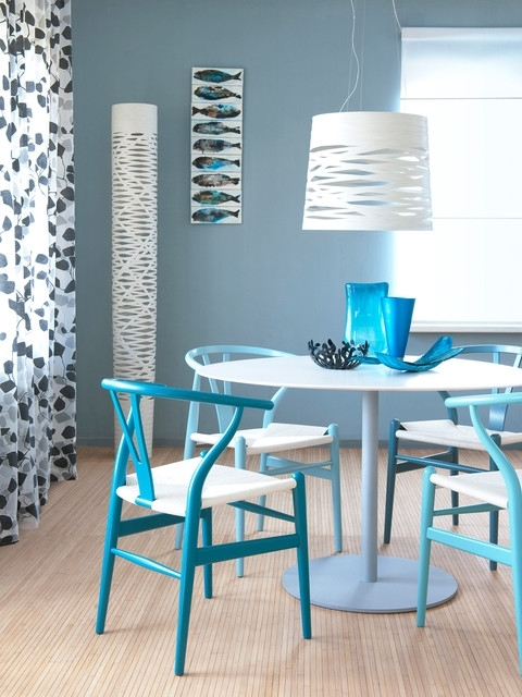 Dining Table Blue – Modern – Dining Room – Amsterdam Throughout Recent Blue Dining Tables (View 12 of 20)