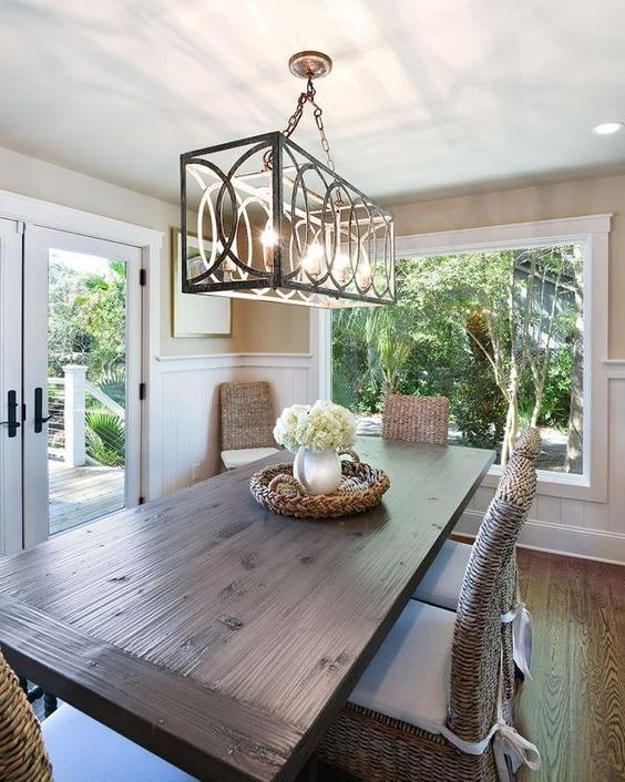 Dining Table Chandelier Selecting — Tina Marie Interior Design (Gallery 20 of 20)