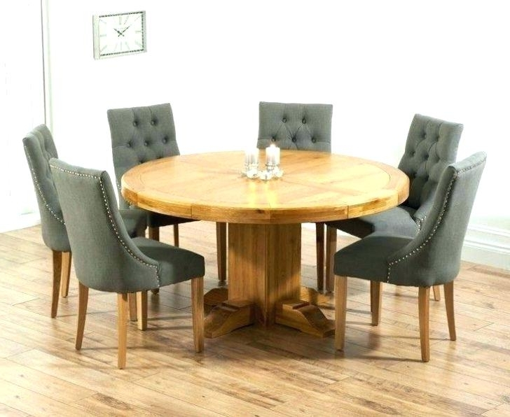 Dining Table For 6 Cheapest Oak Dining Table 6 Chairs Royal And Inside Most Current 6 Chairs Dining Tables (View 11 of 20)