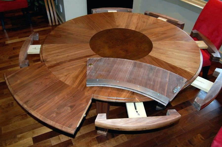 Dining Table Round Extendable Expandable Dining Room Tables For For 2017 Small Square Extending Dining Tables (Gallery 16 of 20)