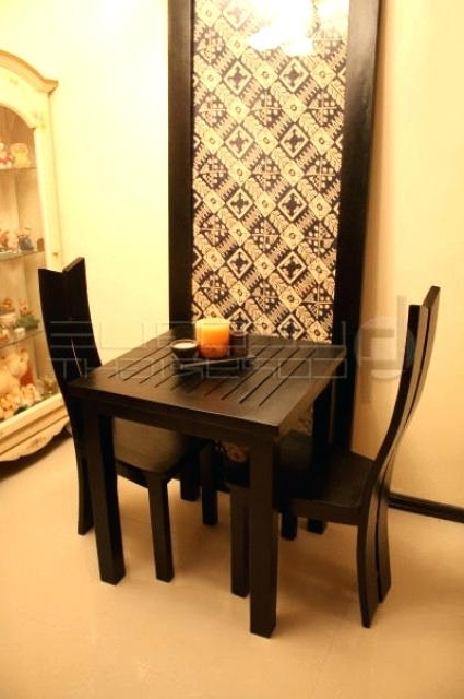 Dining Table Sets For 2 Within Well Known 2 Seat Dining Table Two Seat Kitchen Tables 2 Kitchen Table 2 Seat (Gallery 4 of 20)