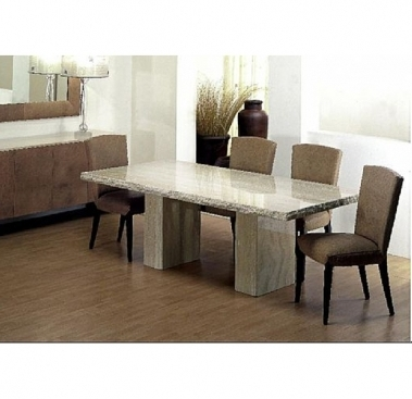 Dining Table With Double Pedestal 5073 S Stone International In Well Known Stone Dining Tables (View 5 of 20)