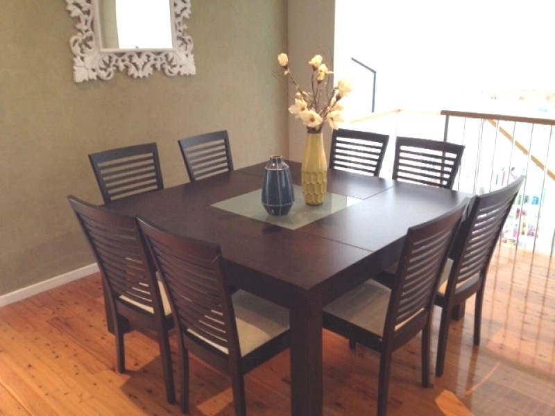 Dining Tables 8 Chairs Regarding Preferred Dining Room Table 8 Chairs – Dining Table Furniture Design (View 6 of 20)