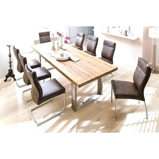 Dining Tables 8 Seater Dining Table 8 Dimensions Square Dining Room Within Preferred 8 Dining Tables (View 11 of 20)