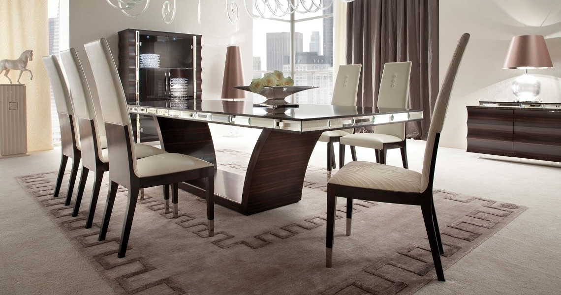 Dining Tables And Chairs Within Latest Exclusiveandreotti Presents Giorgio Collection Luxury Kitchen (Gallery 15 of 20)