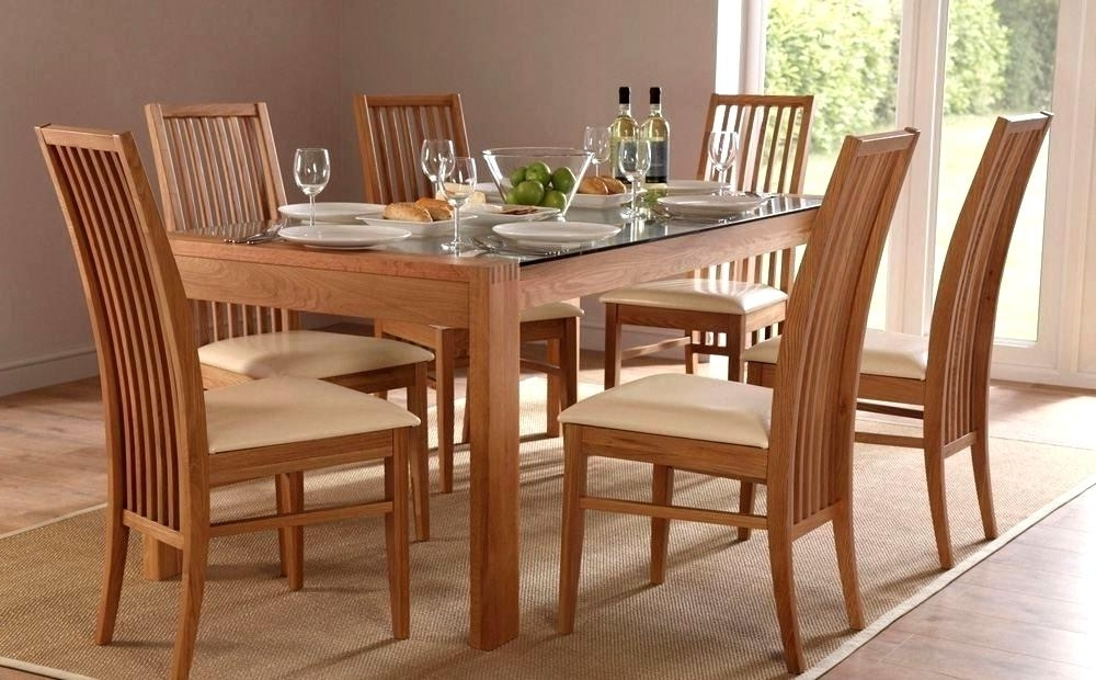 Dining Tables And Six Chairs Pertaining To Favorite Enjoyable Dining Table With Six Chairs Ideas Ordinary Dining Table (View 8 of 20)