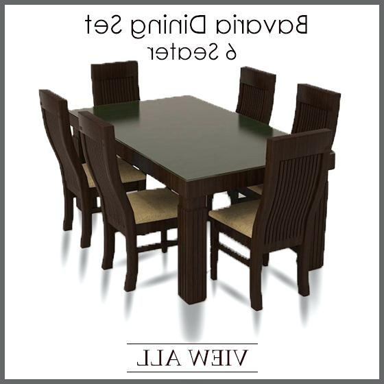 Dining Tables And Six Chairs Regarding Well Liked Six Chair Round Dining Table Download This Picture Here 8 Chair (Gallery 18 of 20)