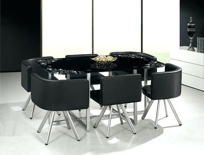 Dining Tables: Awesome Round Glass Dining Table For 6 Glass Round Regarding 2017 Glass Dining Tables With 6 Chairs (Gallery 16 of 20)