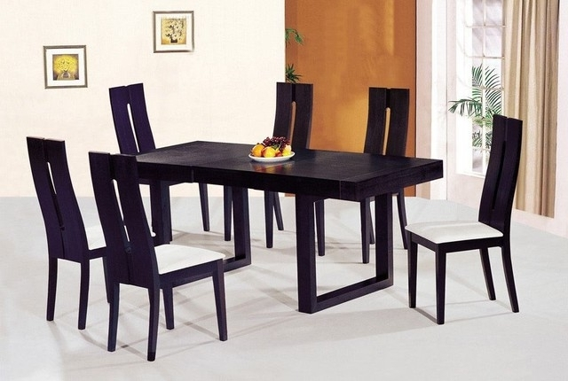 Dining Tables Chairs Pertaining To Current Modern Butterfly Dining Table – Home Decor Ideas (View 4 of 20)