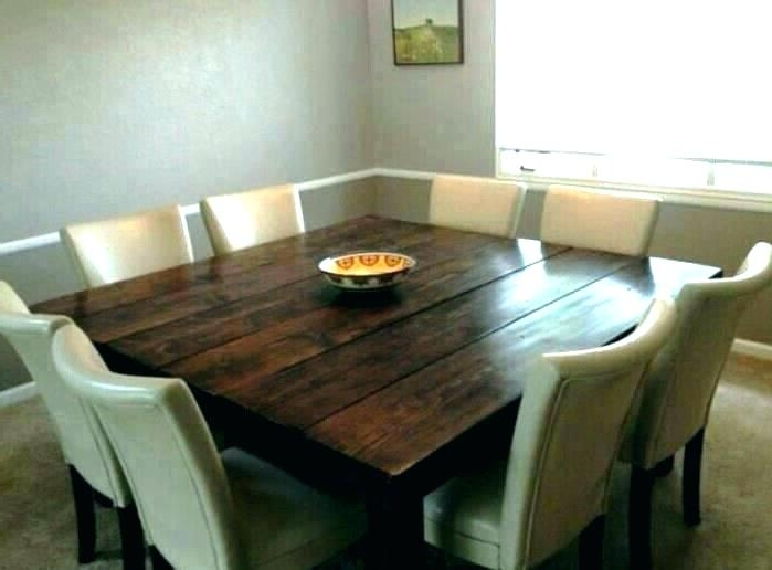 Dining Tables For 8 Intended For Favorite 10 Person Round Dining Table Person Ning Table 8 Square Trendy (View 8 of 20)