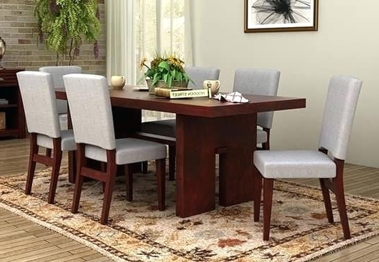 Dining Tables For Six Intended For Most Recently Released Dining Tables 6 Table Round And Chairs Interior Design Gorgeous Room (Gallery 2 of 20)
