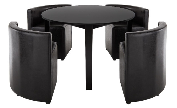 Dining Tables For Tiny Spaces – The Furniture Co Intended For Famous Stowaway Dining Tables And Chairs (Gallery 16 of 20)